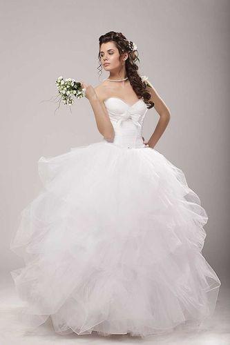 свадебные платья бывают с корсетами