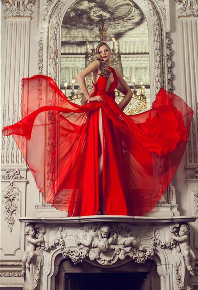 Модные платье картины