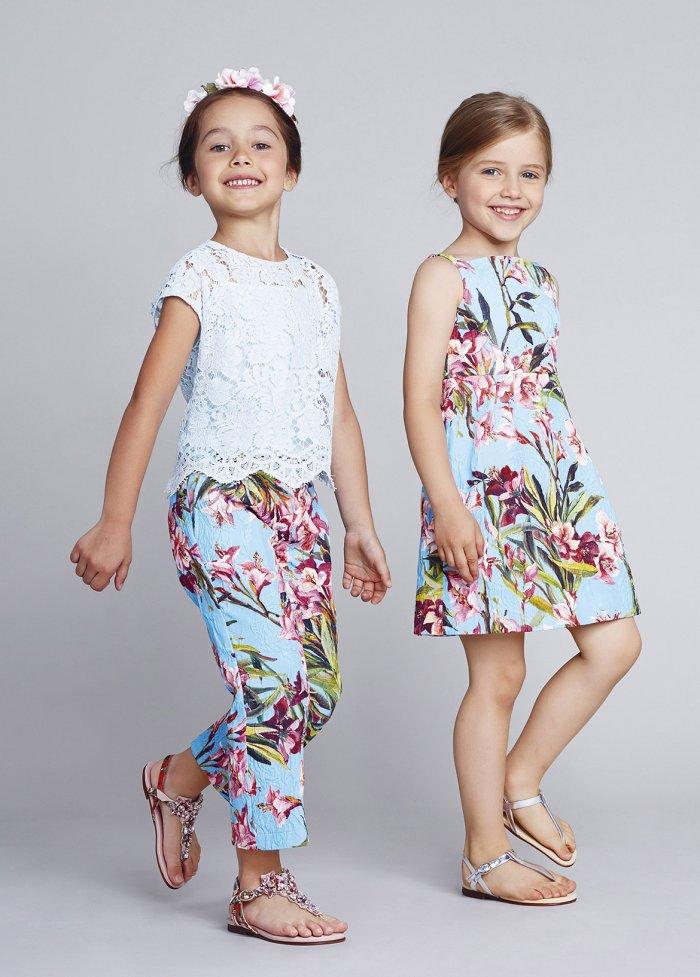 Обзор детской коллекции Dolce & Gabbana 2015