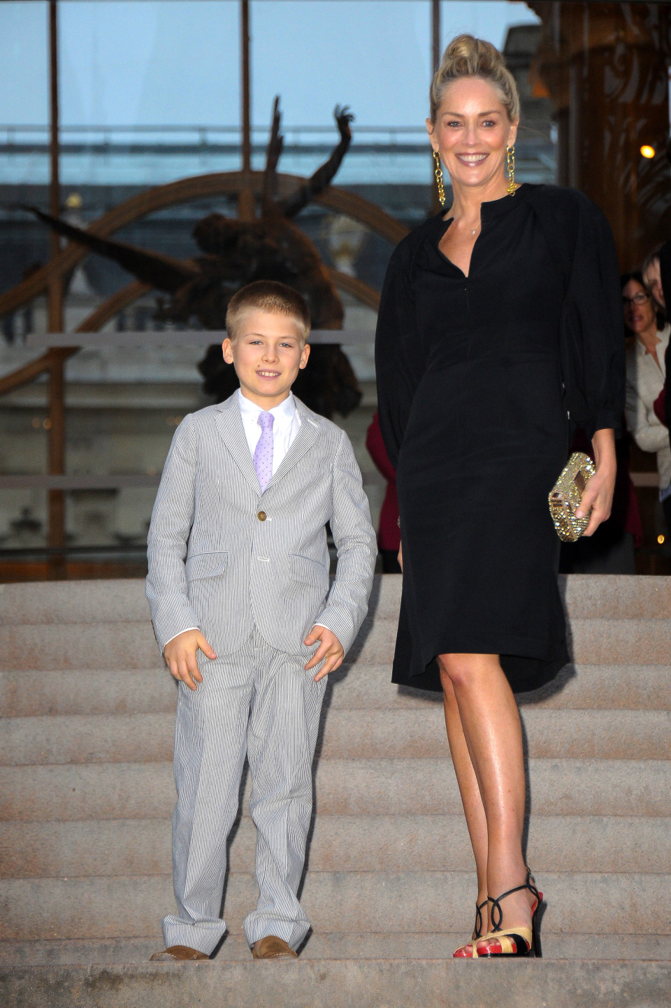 Шерон стоун и её дети фото