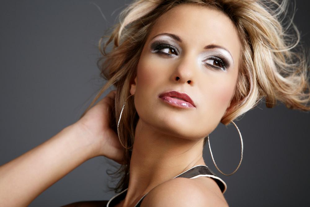 Праздничный макияж - фото, новогодний макияж, make up photo