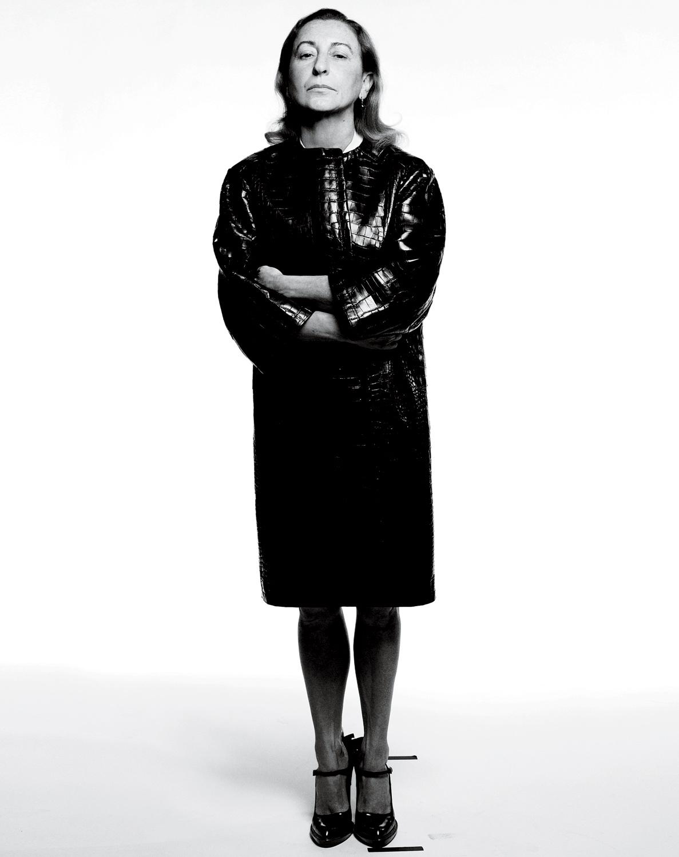 a biography of miuccia prada the italian fashion designer