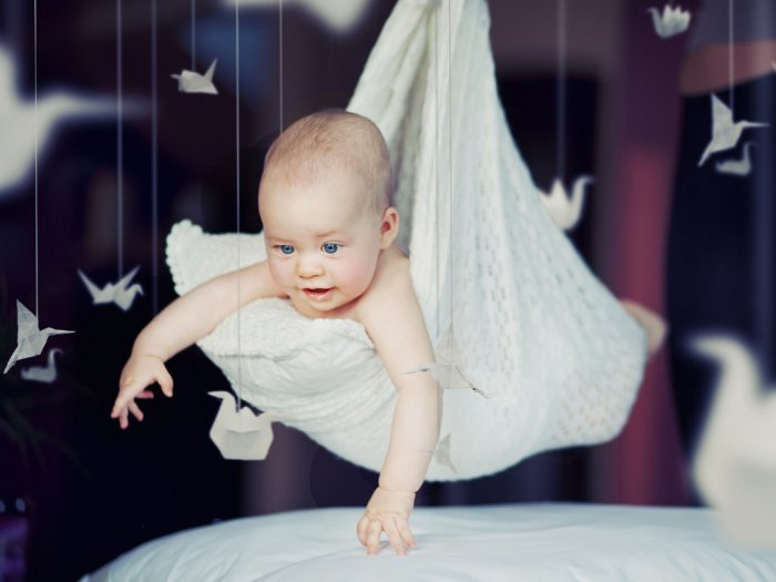 Фотосессия детей до года в домашних условиях фото