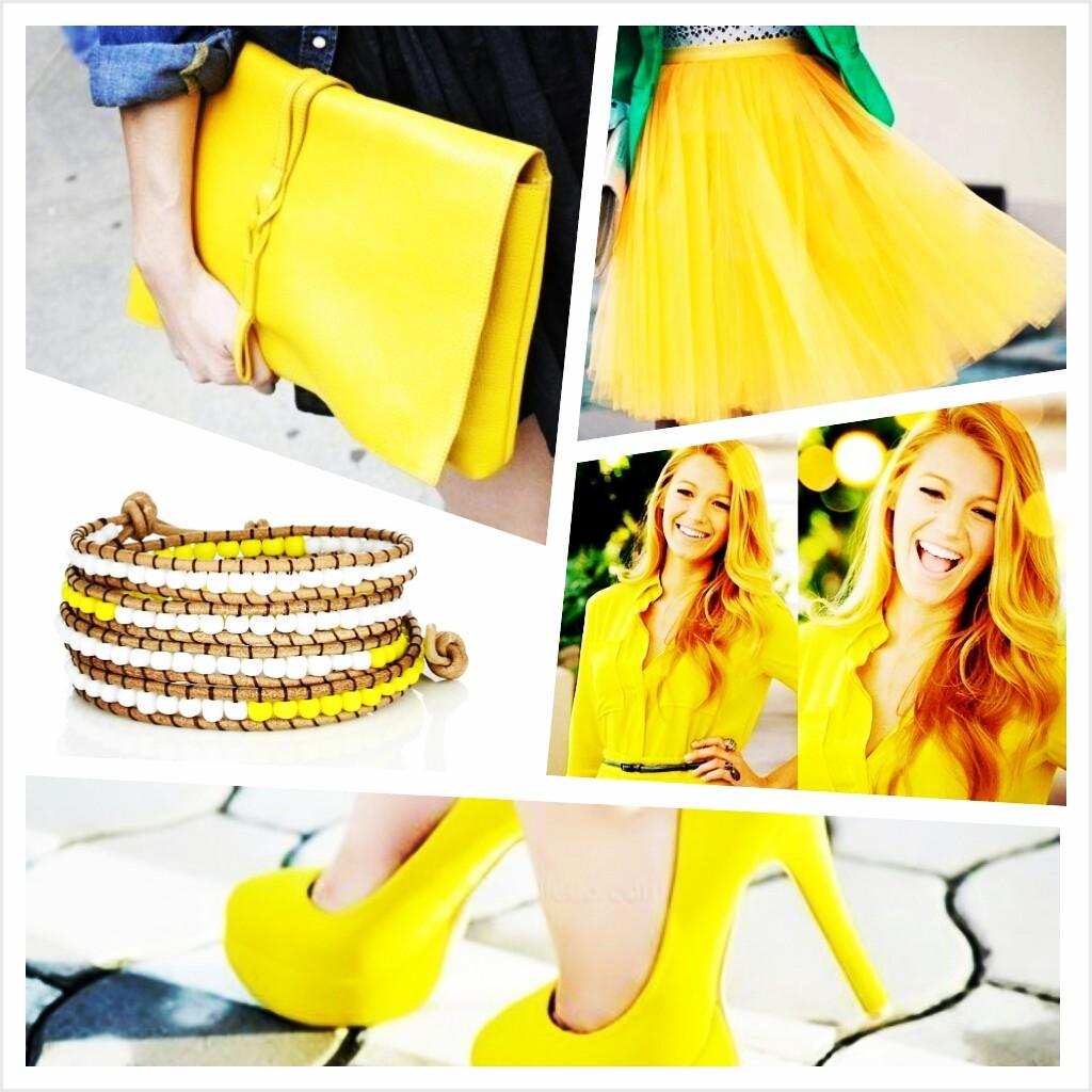 Желтый сочетание цветов фото