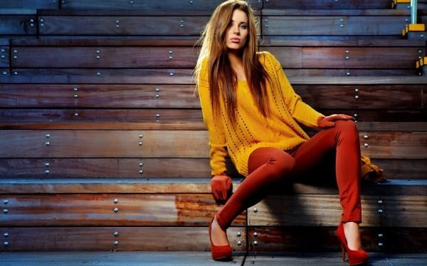 Красивые фото моделей в одежде