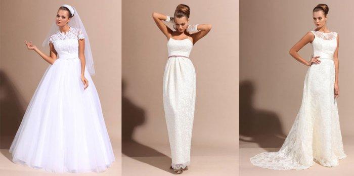 Платье невесты кружево