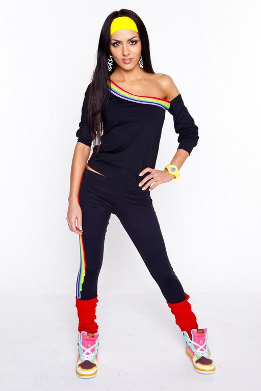 Спортивные одежды для фитнеса девушками 53
