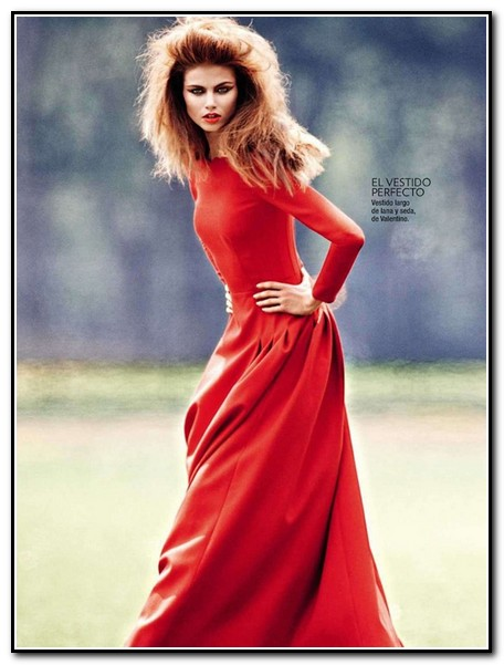 Красные платья идеи