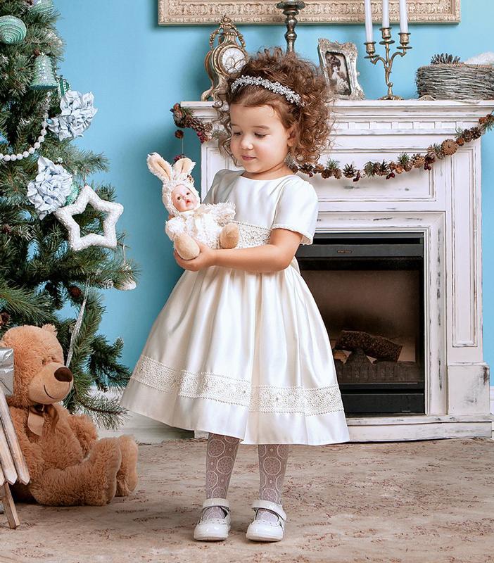 Фото детское новогоднее платье для