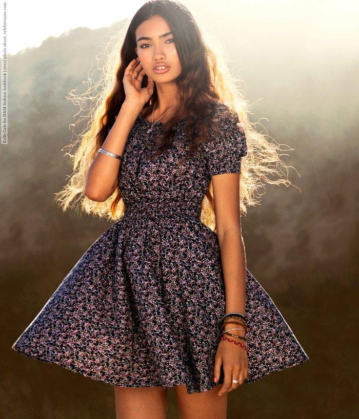 Модели летних платьев с пышной юбкой