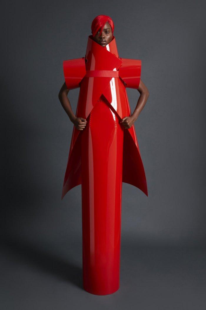 Gareth Pugh самый провокационный показ на неделе моды в Лондоне 2018