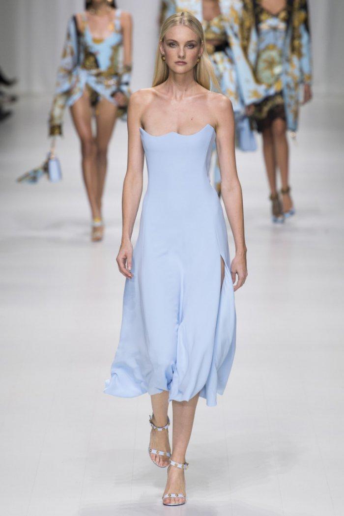 Versace Весна-Лето 2018 - коллекция, посвященная Джанни Версаче