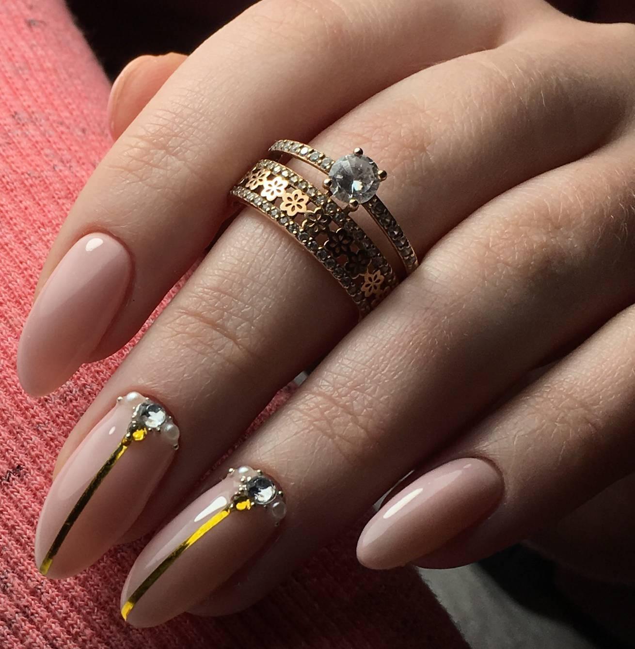Manicure Nail Makeup Manicura de unas, Unas decoradas dorada