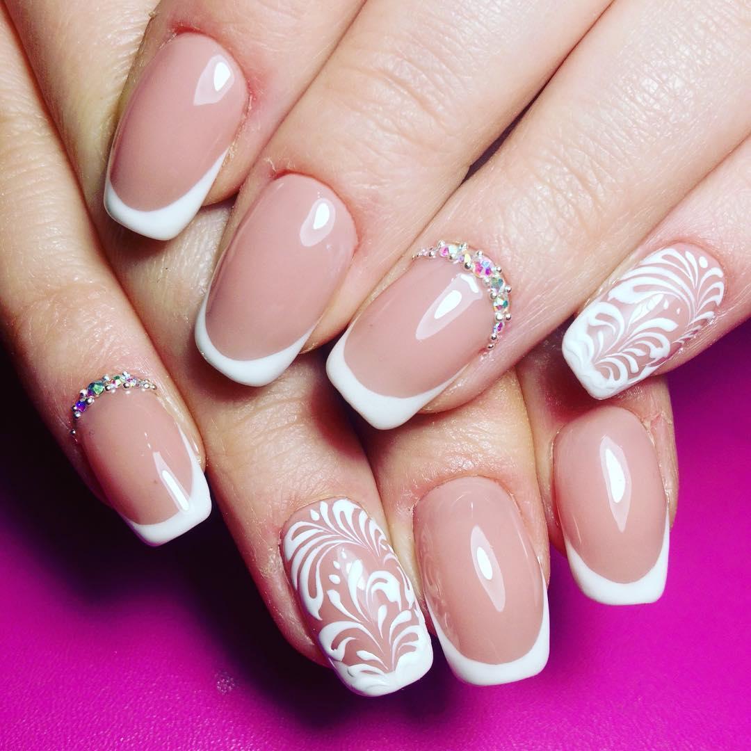 Очень красивые рисунки на ногтях (50 фото)