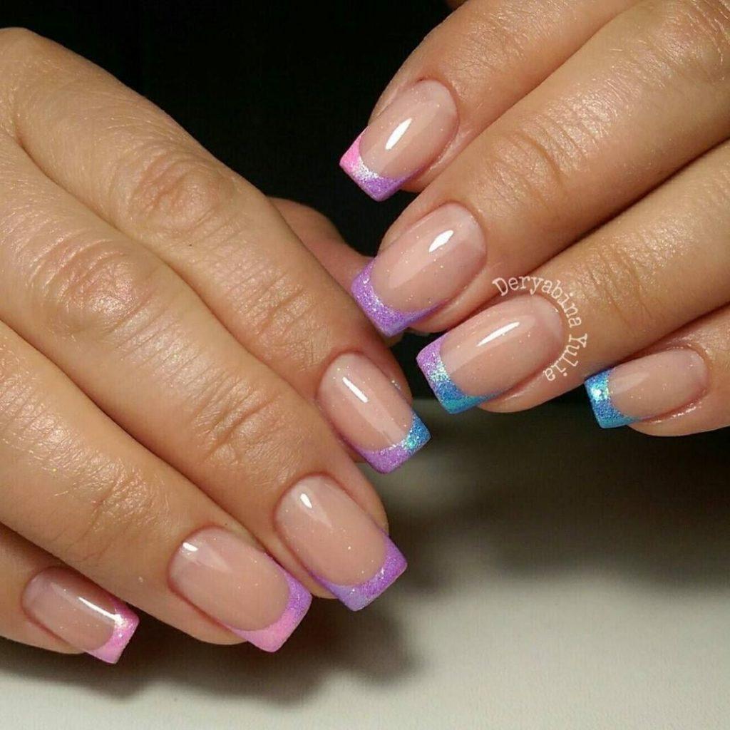Примеры френча на ногтях фото