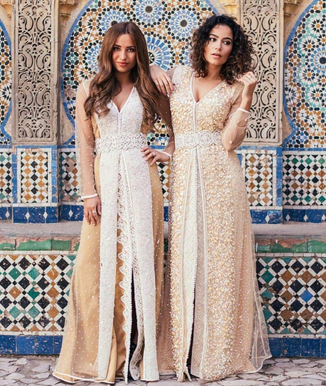 Платье В Стиле Марокко