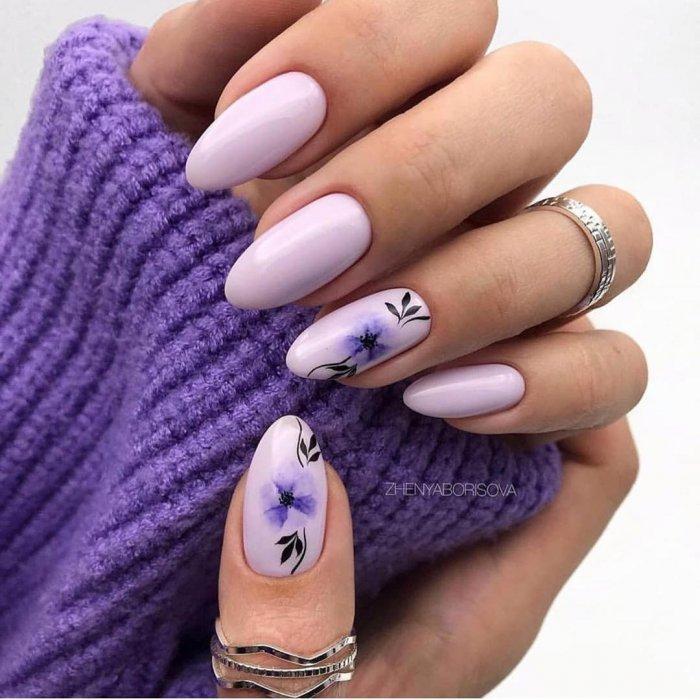 Модные ногти 2020 зима