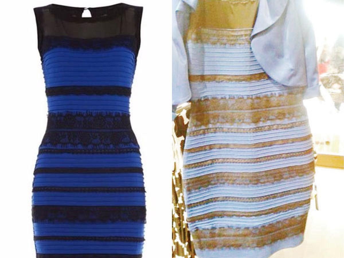 Платье Золотое Или Синее Оригинал Картинка